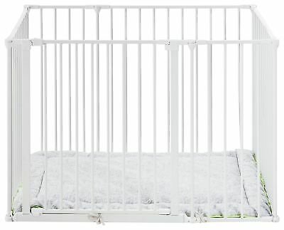 BabyDan Square Metal Playpen - White. From the Official Argos Shop on ebay