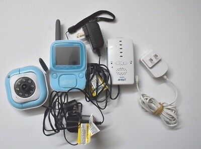 Philips Avent Babyphone with camera and Monitor Security camera Baby