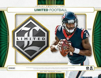 2017 Panini Limited Football Hobby Box