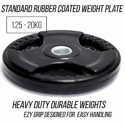 Standard Rubber Weight Plate 2.5kg - 20kg ( 28mm)