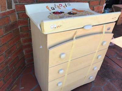 Baby drawers change table