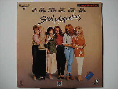 Steel Magnolias 1989 Original Pressing Laser Disc NEW Sally Field - Dolly Parton