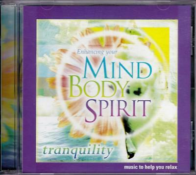 Enhancing Your Mind Body Spirit Music To Help You Relax Cd - Near Mint - Ln
