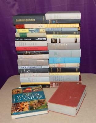 Lot Of 10 Vintage Hardcover Books Unsorted Mixed