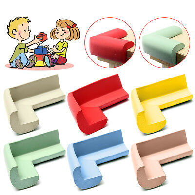 8Pcs Soft Baby Safe Cushion Protector Table Desk Corner Protective Guard Cover