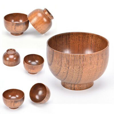 jujube wooden bowl,japanese style chinese bailer soup noodles wood salad YN