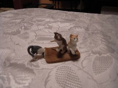 Schleich playful Cats Kittens miniature figurines plastic