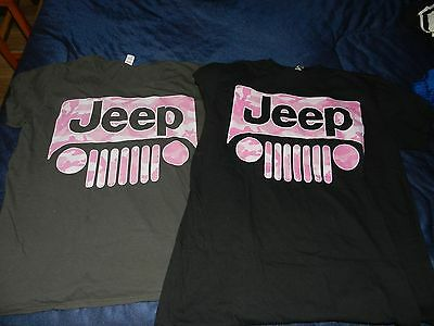 two Rare Jeep T Shirts ( men's L?)