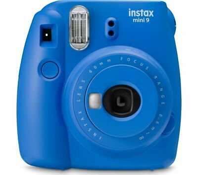 INSTAX mini 9 Instant Camera - Cobalt Blue - Currys
