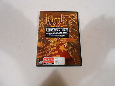 Lamb Of God-Killadelphia-Live Cd And 3 Hour Dvd-2005-Australia-Region 4-Ntsc