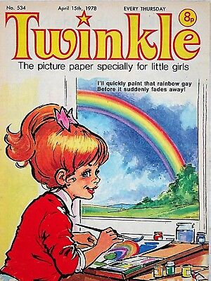 TWINKLE - 15th APRIL 1978 (13 - 19 April) RARE 40th BIRTHDAY GIFT !! FINE+ bunty