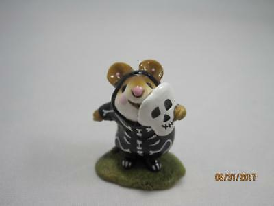 Wee Forest Folk M-157 Skeleton Mousey - Retired in WFF Box