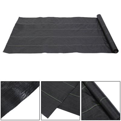 2m x 50m Heavy duty Weed Control Fabric Ground Cover Membrane Foul land BYU