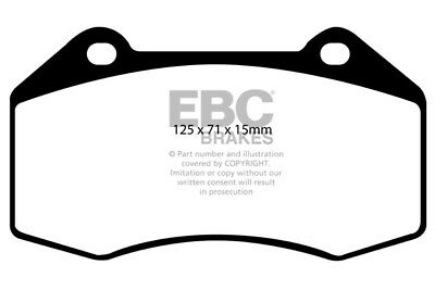 EBC Redstuff Front Brake Pads Renault Megane MK2 Hatch 2.0T RS 225HP 2004 > 06