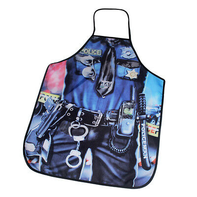 Novelty BBQ Aprons Funny Saucy Catering Cooking Kitchen Apron Policeman Bib
