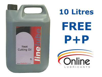 LineLube Neat Cutting Oil Grinding Milling Drilling Threading 10 Litres 10 L