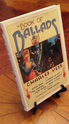 Neil Gaiman Charles Vess BOOK OF BALLADS FINE First Edition 1st Printing SIGNED