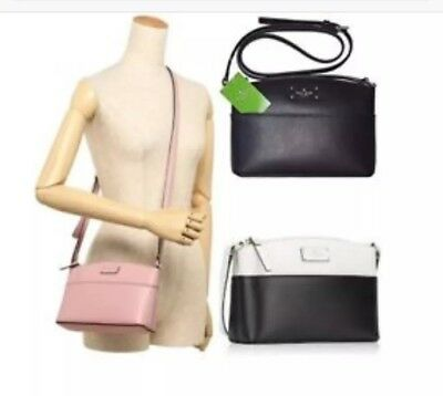 cf8481ca547c NWT Kate Spade Millie Grove Street Leather Crossbody Bag Shoulder Handbag