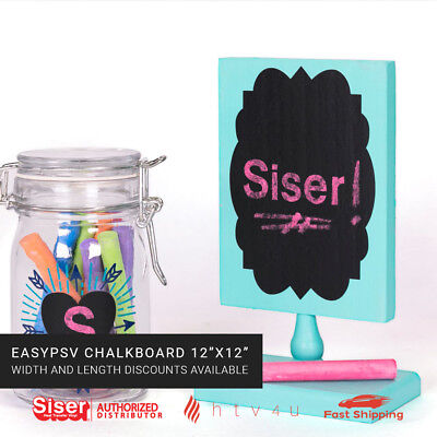 """EasyPSV Chalkboard Adhesive (Sign) Vinyl 12""""X12""""  *Shipping Discounts Available*"""