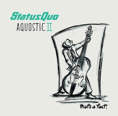 STATUS QUO Aquostic II: That's A Fact! 2016 gatefold vinyl 2LP album NEW/SEALED