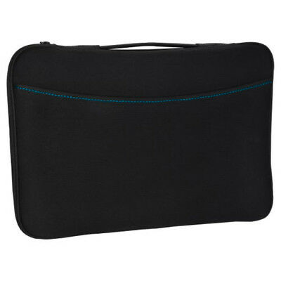 """Logitech Black Portable Laptop Notebook Sleeve Case Cover For 15-15.6"""" HP Dell"""