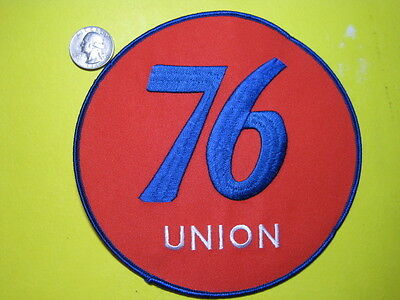 Union 76 Uniform Cloth Patch 6 Inch Circle Look And Buy!