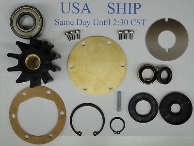 Major Repair Kit For Jabsco 777-9001 Sea Water Pump Detroit Diesel 8.2 CAT 3208
