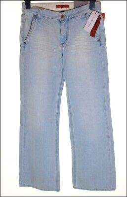"""Bnwt Men's French Connection Bootcut Flare Jeans RRP£65 Blue New W36"""" W30"""""""