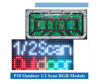 P10 led module 36pcs/lot outdoor SMD 3535 RGB Full color 320*160mm