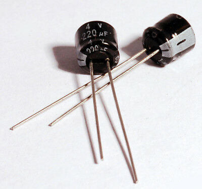 x2 Minolta X-700 Capacitors Replacement Pack 220uF 4V (2 Pieces)