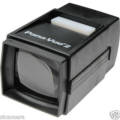 Panavue 2 35mm Lighted Slide Viewer Pana-Vue FPA002 Outfit w/AC Adapter  + Lamp