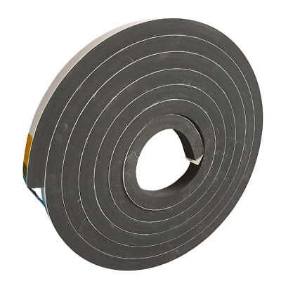 Adhesive Sponge Rubber Sealing Tape | Weatherstripping - 9.5mm x 18mm x 10 Mtrs