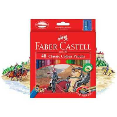 Faber-Castell Colour Pencils 48 Pack