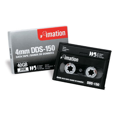 Imation 4mm DDS-150  51122 40963 Data Back-Up Cartridge Tape 40GB/20GB  Each