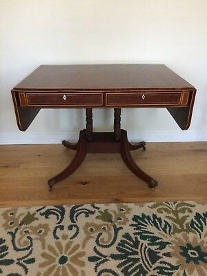 antique regency mahogany sofa table