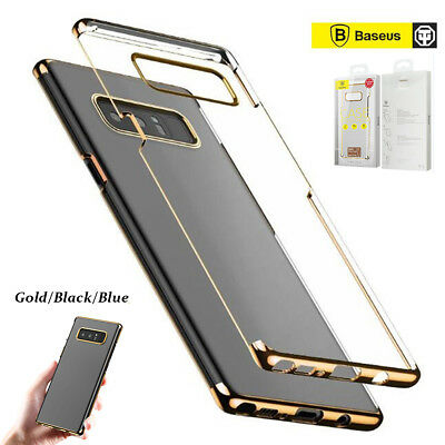 Genuine Baseus Ultra Thin Shockproof Clear Case Cover for Samsung Galaxy Note 8