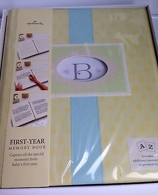 BRAND NEW! Hallmark Baby Boy or Girl Memory Photo Album Scrapbook, Shower Gift