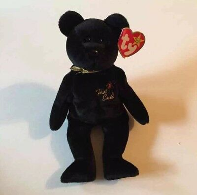 MWMT The End TY Beanie Baby Babies Bear Original Retired Rare Errors 1999 Mint