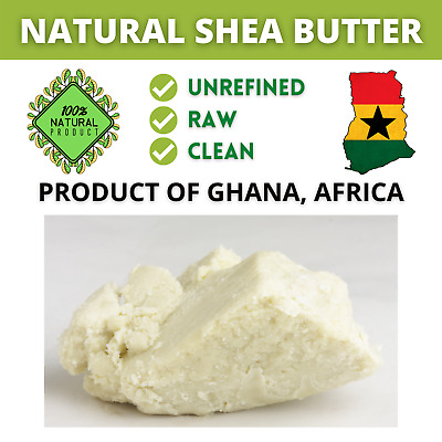 100 % Natural Pure Raw Shea Butter Unrefined From Ghana, Premium Quality.