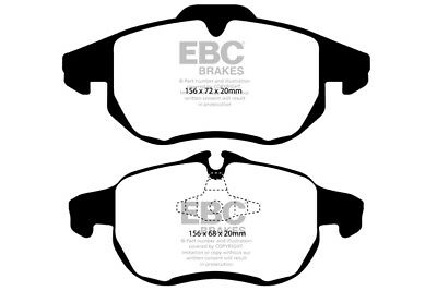 EBC Yellowstuff Front Brake Pads for Vauxhall Vectra 1.8 (2002 > 04)