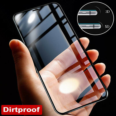 3D/4D/5D Tempered Glass Full Screen Protector For iPhone 11 Pro Max XS X 8 5 6 7