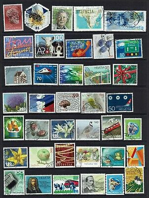 Switzerland  Various Stamps...collection...