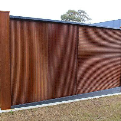 Mini Orb Real Rust Z-Tina Corrugated Iron sheets 1800H x 855W