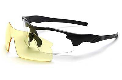 8ead3056afd FWE Rayet Photochromic Hydrophobic Scratch Resistant Multi Lens Cycling  Glasses