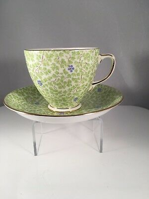 Old Royal Bone China  Tea Cup and Saucer Floral Pattern