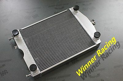56mm ALUMINUM Radiator Ford 2N/8N/9N tractor w/flathead V8 engine