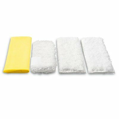GENUINE KARCHER Pk4 Kitchen Cloth Set Fit Steam Cleaners (2863172 2.863-172.0)