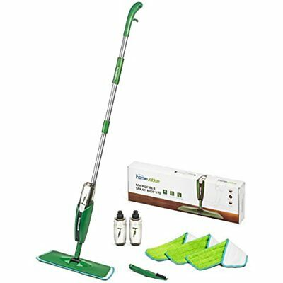 Microfiber Spray Mop Kit /w 3 Pads, 2 Bottles, And Precision Detailer - Floor