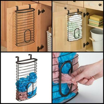 Over The Cabinet Plastic Bag Storage And Grocery Bag Kitchen Storage Brand  New