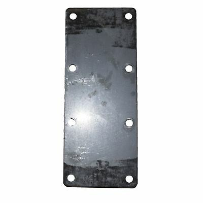 500KG Mounting Plate (Single) 8 Hole Suspension Unit Welding Weld On Plate